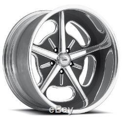 17 Pro Wheels HOT ROD Polished Aluminum Billet Rims Intro Foose US touring year