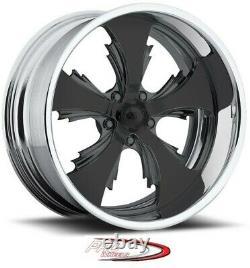 17 Pro Wheels Rims Custom Forged Billet Reaper