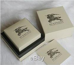 2016 New 100% Authentic Men's Wristwatch LUX Burberry Gold Silver Chrono BU1374