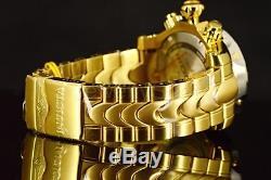 23893 Invicta 52MM Venom 1000M Swiss Silver Dial Chronograph GP SS Bracelet Watc