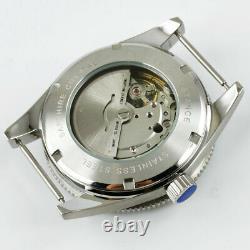 41mm CORGUET miyota Japan NH35A Automatic mens watch black dial ceramic bezel