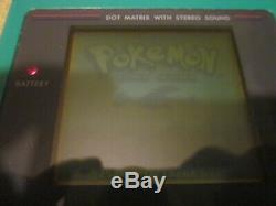 6 Gameboy Games. Pokemon Crystal, Gold, Silver, Blue, Red, Yellow Authentic