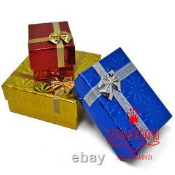 Big XL Real Yellow Gold Silver Diamond Bread Winner $ Cash Money Pendant Charm