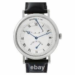 Breguet Classique Retrograde 5207 18k White Gold Silver dial 40mm Auto watch