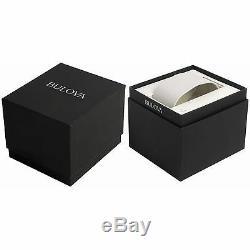 Bulova 96B231 Men's High Frequency Silver-Tone Quartz Watch
