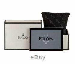 Bulova 98L135 Women's Genuine Crystals Yellow Gold & Silver Tone Dress Watch