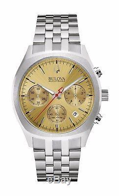 Bulova Accutron II Men's 96B239 Surveyor Quartz Chronograph Bracelet 41mm Watch