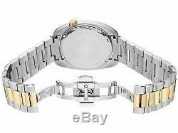 Bulova Accutron II Men's 98B272 Quartz Silver Dial Two-Tone Bracelet 40mm Watch