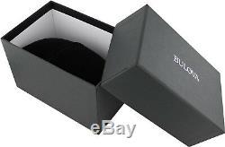 Bulova Marine Star Men's Quartz Gold-Tone Accents Black 44mm Watch 98B278
