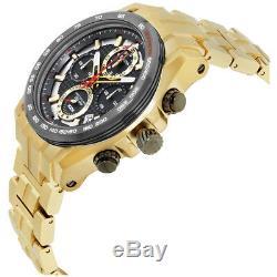 Bulova Precisionist Men's 98B271 UHF Quartz Chronograph Gold-Tone 48mm Watch