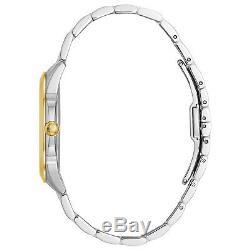 Bulova Women's 98P161 Quartz Diamond Accents Two-Tone Bracelet 36mm Watch