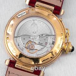 Cartier Pasha 2392 18k Yellow Gold Silver Dial with 18k YG Deployment Buckle Watch