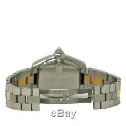 Cartier Roadster W62026Y4 Ladies Steel Gold Silver Dial Quartz 2YrWarranty #1473