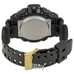 Casio G-Shock Gold-Tone Dial Black Resin Men's Watch GA-710GB-1ACR