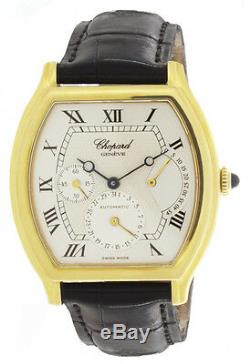 Chopard Men's classique 18K Gold Silver Dial Power Reserve Automatic Watch 2248