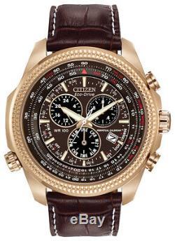 Citizen Eco-Drive Men's Perpetual Calendar Chronograph 48mm Watch BL5403-03X