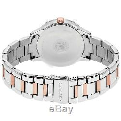 Citizen Eco-Drive Women's FD2016-51A Swarovski Crystal Two-Tone 37mm Watch