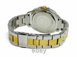 Coach Boyfriend 14501702 Gold & Silver Stainless Steel Pave Women's Watch