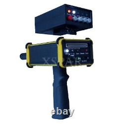 GR-100 Yellow Long Range Gold Detector with LED Screen for Gold Silver Gem Diamond