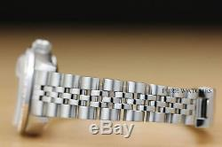 Genuine Ladies Rolex Diamond Datejust 18k White Gold Stainless Steel Watch