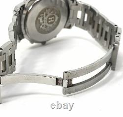 Hermes Paris Gold/Silver Stainless Steel Chronograph Cl1-920 Watch