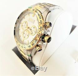 Hugo Boss Watch White Dial Gold Silver Gold Band HB1512960 Genuine Alfa Male VIP