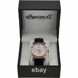 INGERSOLL Mescalero IN1621WH GOLD SILVER AUTOMATIC WATCH BLACK BRAND NEW