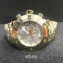 INVICTA 14508 Reserve 52mm Gold/Silver Specialty Subaqua Swiss Bracelet Watch