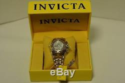 INVICTA Women's RESERVE Bolt Zeus Chrono Watch Swiss Gold-Silver 70 Diamonds
