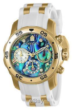 Invicta 24831 Women's Pro Diver Chrono Abalone Dial Watch