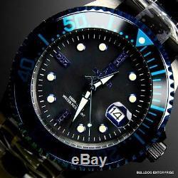 Invicta JT Jason Taylor Grand Diver Black Diamonds Automatic 47mm MOP Watch New