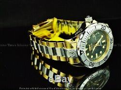 Invicta Men 300M Grand Diver Auto MOP Liquid Chrome Gold/Silver Tone SS Watch