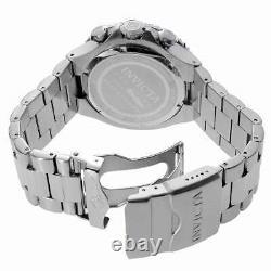 Invicta Men's Watch Pro Diver Chronograph Blue Dial Steel Bracelet 18907