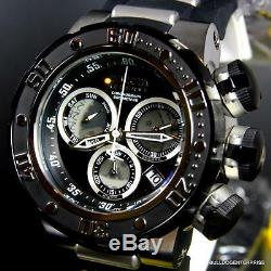 Invicta Reserve Subaqua Sea Dragon Chronograph Black 52mm Swiss Movt Watch New