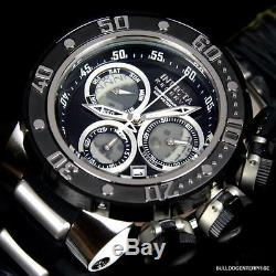Invicta Reserve Subaqua Sea Dragon Chronograph Black 52mm Swiss Movt Watch New