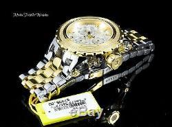 Invicta Reserve Subaqua Specialty Swiss Quartz 0.70ctw Diamond Gold Silver Watch