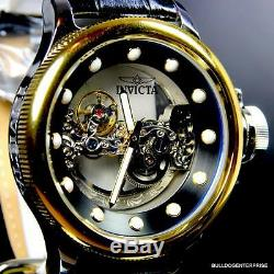 Invicta Russian Diver Ghost Bridge Automatic Gold Plated 24594 14213 Watch New