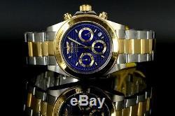 Invicta Speedway Signature 18k Gold IP 2 Tone Chronograph Tachymeter Men's Watch
