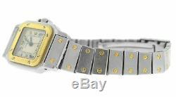 Ladies Cartier Santos Galbee 18K Yellow Gold Automatic 24MM Watch