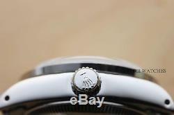 Ladies Rolex Datejust 18k White Gold Diamond Sapphire & Steel Watch White Dial