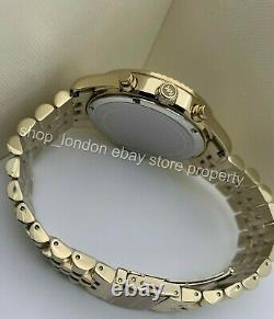 MICHAEL KORS MK8579 Gold Tone Crystal Lexington Chronograph Men's Wrist Watch US