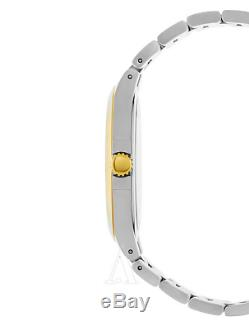 MOVADO Luno Black Dial Gold & Silver StainlessSteel Case Luxurious Watch 0606909