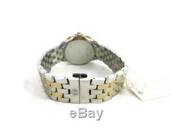 Michele Belmore Diamond Two Tone Gold Silver Watch MW29B01C5018 + Box NIB Refurb