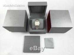 Michele Urban Mini Yellow Gold Silver Two Tone Diamond Watch MWW02A000599 Refurb