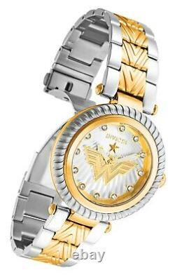 NEW Invicta 33172 40MM Chronograph Gold -Silver Dial Stainless Steel Watch