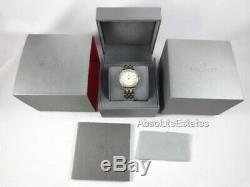 NEW Michele Belmore Diamond Yellow Gold Silver Two Tone Watch MWW29A000009 NIB