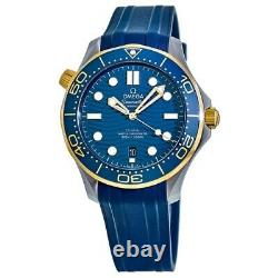 New Omega Seamaster Blue Dial Sedna Men's Watch 210.22.42.20.03.001