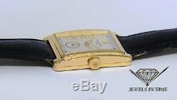 Patek Philippe 5010 Gondolo 18k Yellow Gold Silver Dial Manual Watch 5010J