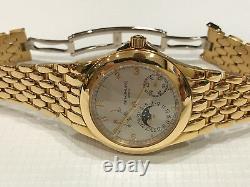 Patek Philippe 5085/1j On Yellow Gold Bracelet 5085 Very Rare 100 Made 5712 Mvmt