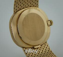 Patek Philippe Ellipse, 3545-1, Mens, 18K Yellow Gold, Silver Dial, Manual Wind